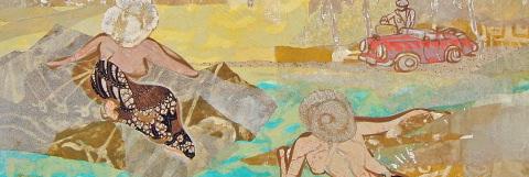 The ever-evolving oeuvre of Davina Stephens, Bali painter.