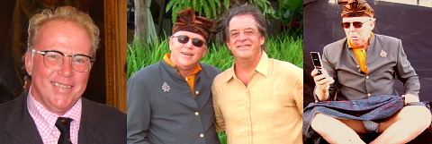 Made Wijaya and John Hardy at Bali celeb wedding.