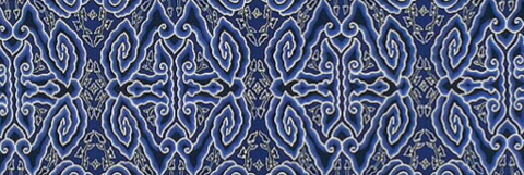20th century Cirebon-style cotton batik kain panjang, The Textile Museum.