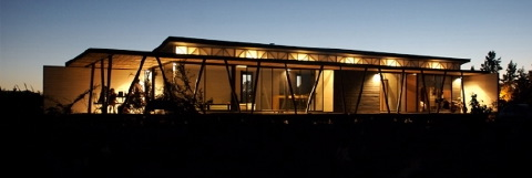Biehl House by Garcia and Rojo, Santiago, Chile.