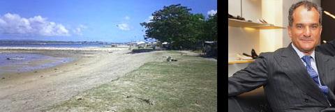 Bali beach land to become Ferragamo Resort. Leonardo Ferragamo.