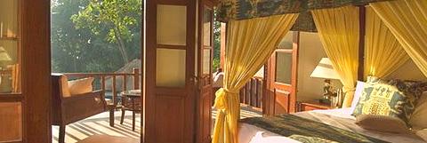 Villa Mako guest bedroom, Bali