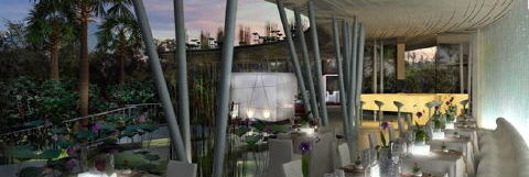 Eco-sci-fi dining room . . .