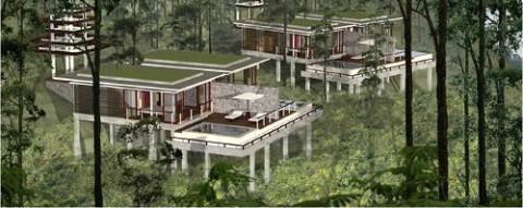 Bakrieland\'s Ubud Nirwana Villas and Spa, a chic conscious community, perhaps.