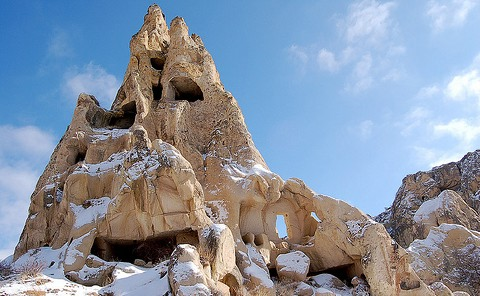 Gorëme Outdoor Museum, Cappadocia.
