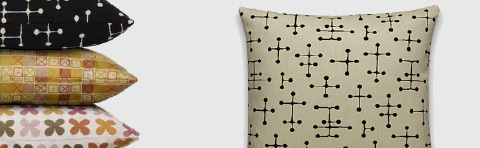 Maharam textiles make great pillows