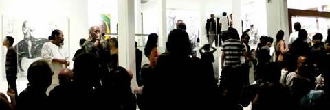 Tisna Sanjaya opening at Kendra Gallery Bali