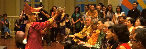 opening party at asian civilisations museum singapore