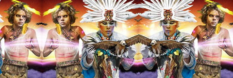 Empire of the Sun give good glam in Bali high season 2011