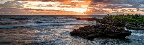 Sunset at Mengening Bali