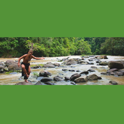 Long Sa'an documentary film about Kenyak Dayak lands and traditions