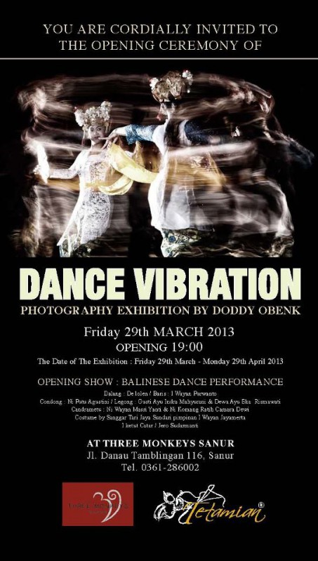 dance vibration exhibition sanur