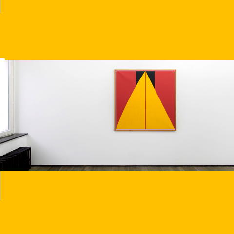 who's afraid or red yellow and black wuidar's rigor defines neo suprematism. at white cube.
