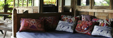 Sumatra house from the Maison Bulle collection, Bali.