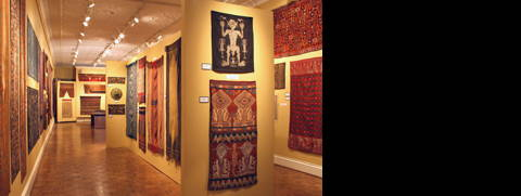 HALI image of Minasian exhibition of Indonesian textiles in Chicago.
